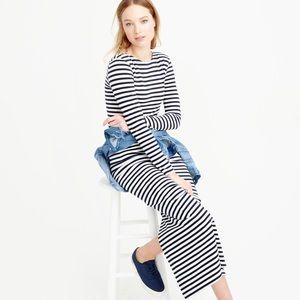 NWT J. crew long sleeve striped dress 6